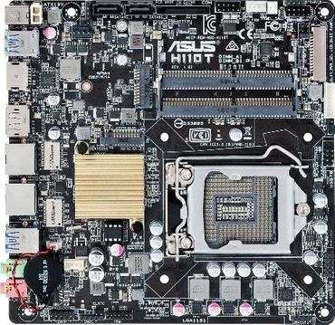 ASUS H110T Intel H110 LGA 1151 (Socket H4) Mini ITX Motherboard DDR4 – Bild 1