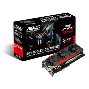 ASUS STRIX Radeon R9 Fury 4GB High Bandwidth Memory (HBM), refurbished – Bild 1
