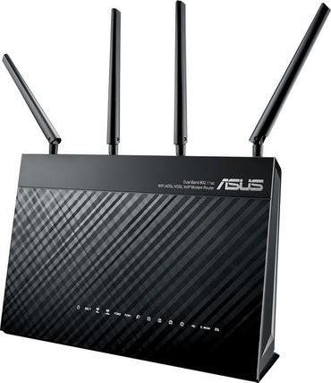 ASUS DSL-AC87VG Dual-Band WLAN-Router (2,4 GHz/5 GHz) 1734Mbps black  – Bild 1