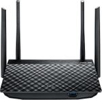 ASUS RT-AC58U Dual-Band WLAN-Router (2,4 GHz/5 GHz) Gigabit Ethernet black  001