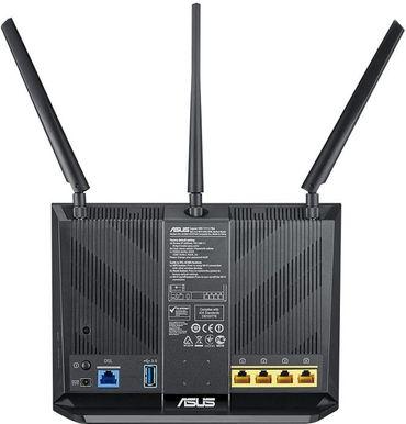 ASUS DSL-AC68U AC1900 WLAN-Router Dual-Band (2,4 GHz/5 GHz) 1300Mbps – Bild 2