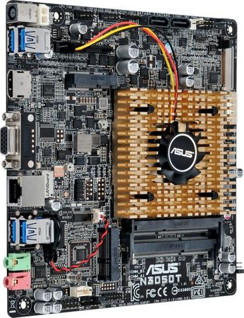ASUS N3050-T thin-mini-ITX Mainboard – Bild 3