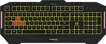 ASUS Cerberus Gaming Keyboard MKII, RGB LED, refurbished – Bild 5