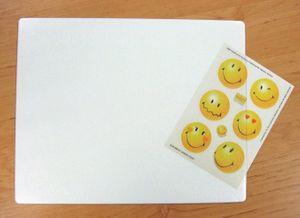 Mousepad für Fotos / Bilder / Notizen zum Selbstgestalten transparent 24 x 19 cm