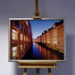 3D-Bild: Hamburg Hafen City | Speicherstadt, Hamburg, Hafen-City, 3D, Lenticular