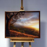 3D-Bild: Herbst | Natur, Landschaft, Baum, Herbst