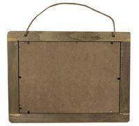 Memoboard Memotafel Wandtafel Tafel aus Holz 29 x 21 cm zum Hängen
