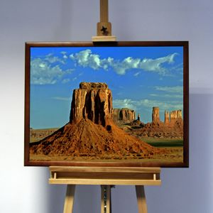 3D-Bild: Monument Valley | Ödland, Grand Canyon, Amerika