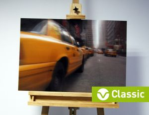 3D-Bild: Taxi in New York (Classic) | Big Apple, Cab, Taxi, Amerika