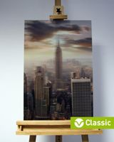 3D-Bild: New York City (Classic) | Empire State Building, Big Apple, Amerika