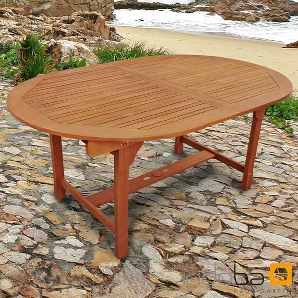 Gartentisch Sun Flair - oval, ausziehbar - Serie Sun Flair - IND-70001-TI