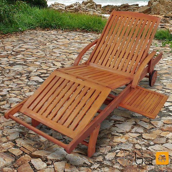 Gartenliege Sun Flair - Sonnenliege - Serie Sun Flair - IND-70005-SL