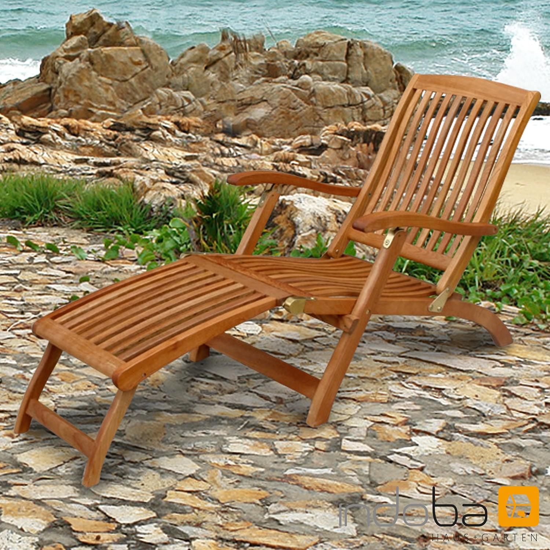 Deck Chair Sun Flair - Serie Sun Flair - IND-70006-DC