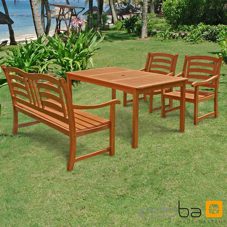 Gartenmöbel Set 4-teilig Montana - Gartenset - Serie Montana - IND-70021-MOSE4GB25