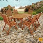 Gartenmöbel Set 7-teilig Bali - Serie Bali - IND-70048-BASE7 001
