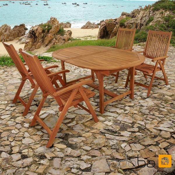 Gartenmöbel Set 5-teilig Bali - Serie Bali - IND-70068-BASE5