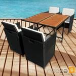 Gartenmöbel Set 5-teilig Faro - Polyrattan - Serie Faro - IND-70082-FASE5