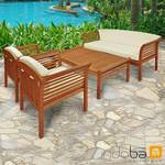 Gartenmöbel Set 4-teilig Samoa - Serie Samoa - IND-70110-SASE4 001
