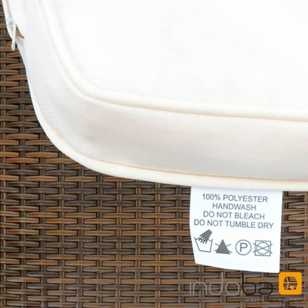 2 x Gartenstuhl Valencia - Hochlehner- Polyrattan und Holz - braun - SerieValencia - IND-70120-ST – Bild 10