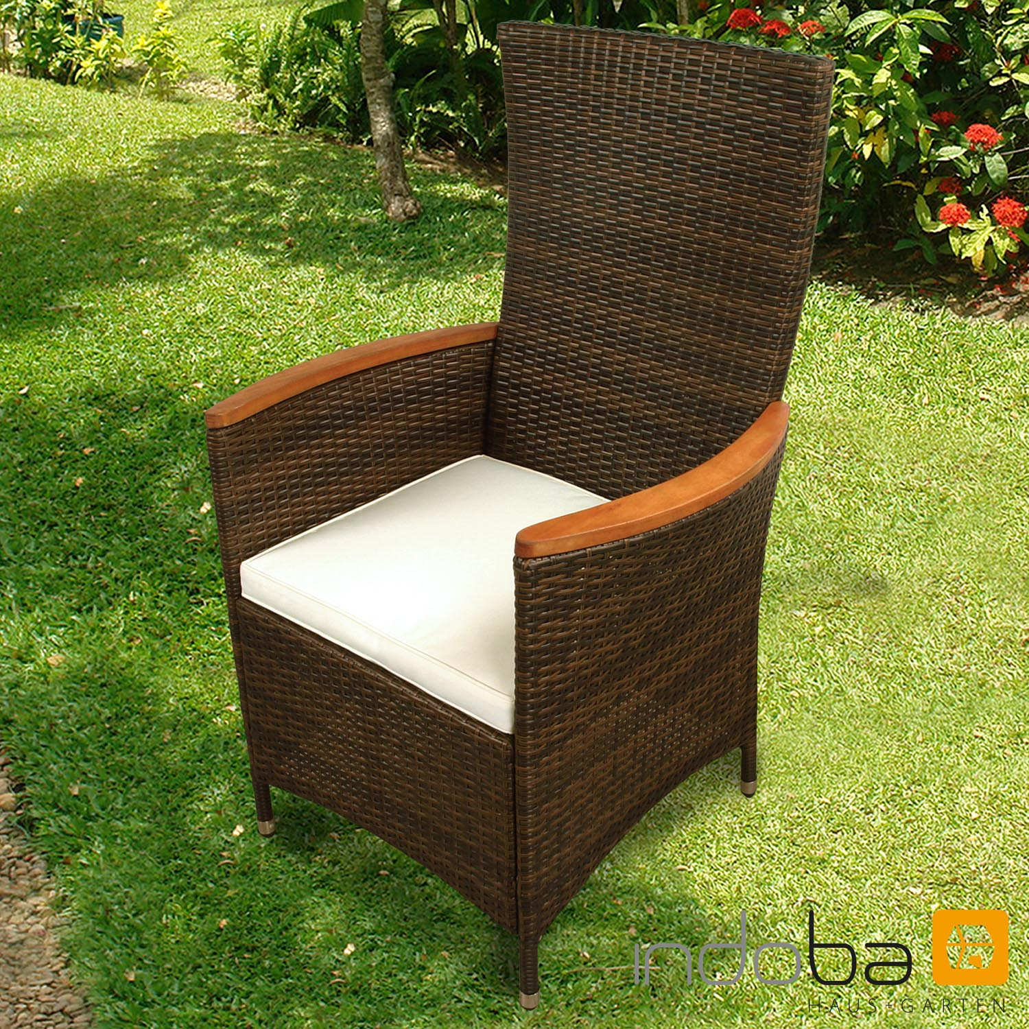 gartenm bel set 5 teilig valencia hochlehner polyrattan. Black Bedroom Furniture Sets. Home Design Ideas