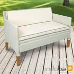 Sofa 2,5-Sitzer Havanna - Polyrattan und Holz - Serie Havanna - IND-70127-SO 001