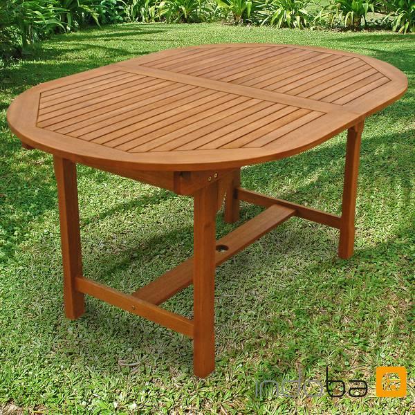 Gartentisch Sun Shine - oval, ausziehbar - Serie Sun Shine - IND-70301-TI