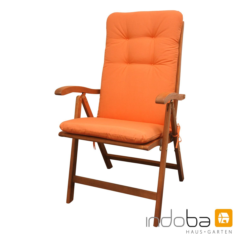 indoba - Sitzauflage Hochlehner - Serie Relax - Orange