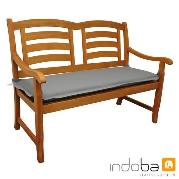 indoba - Bankauflage Serie Premium - extra dick - Grau