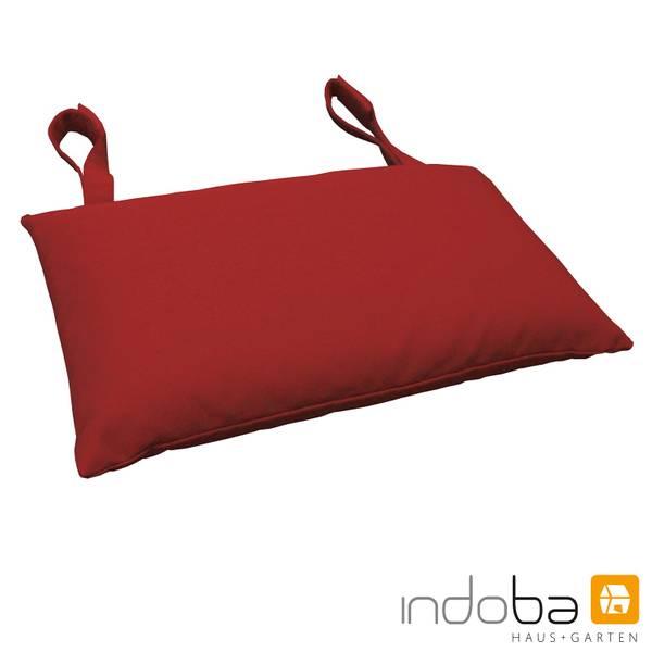 indoba - Kopfkissen Serie Premium - extra dick - Rot