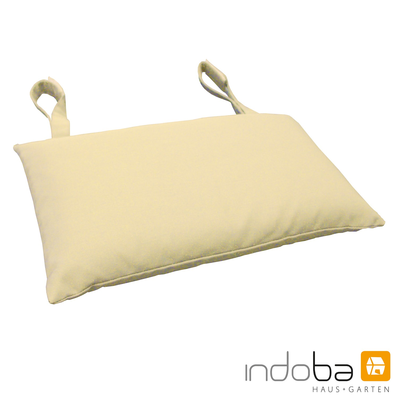 indoba - Kopfkissen Serie Premium - extra dick - Beige