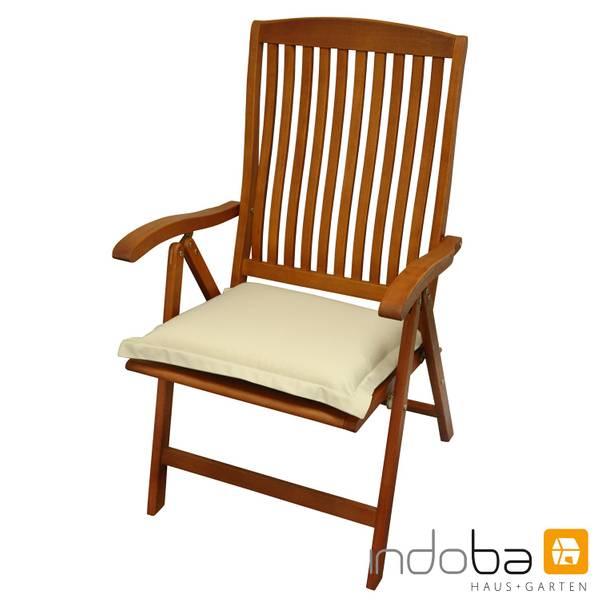 indoba - Sitzkissen Serie Premium - extra dick - Beige