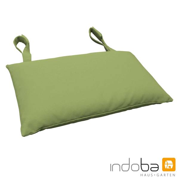 indoba - Kopfkissen Serie Premium - extra dick - Grün