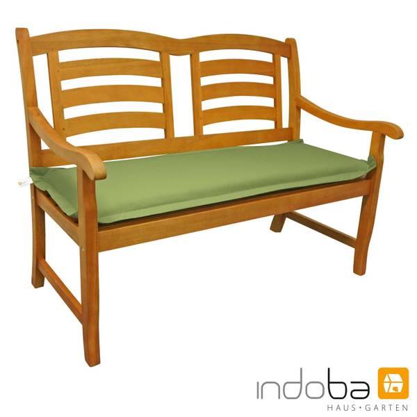 indoba - Bankauflage Serie Premium - extra dick - Grün