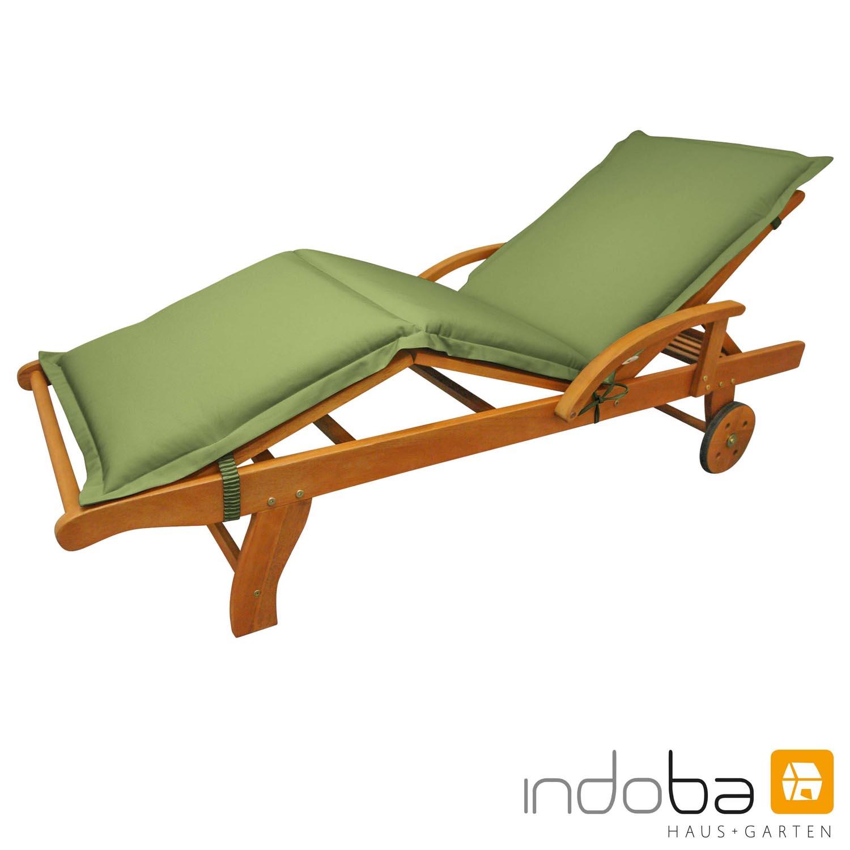 indoba - Liegenauflage Serie Premium  - extra dick - Grün