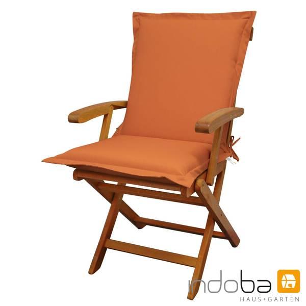 indoba - Sitzauflage Niederlehner Serie Premium - extra dick - Terra