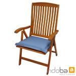 indoba - Sitzkissen Serie Premium - extra dick - Blau 001