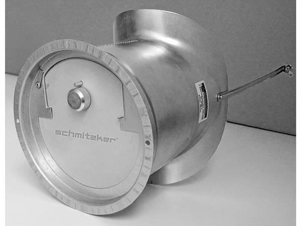 Schmitzker Kaminzugbegrenzer WZB-1 mit Rohrmanschette