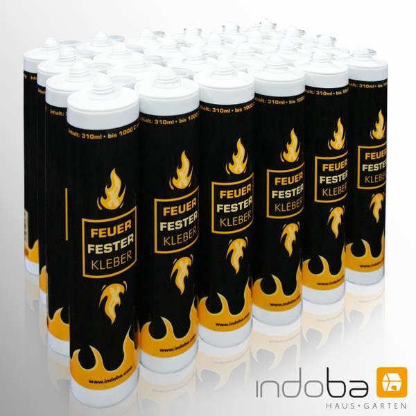 24 x Feuerfester Kleber Hochtemperaturkleber