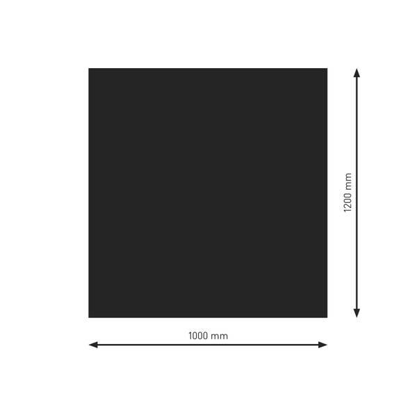 Bodenplatte, Funkenschutzplatte aus 2 mm Stahlblech – Bild 9