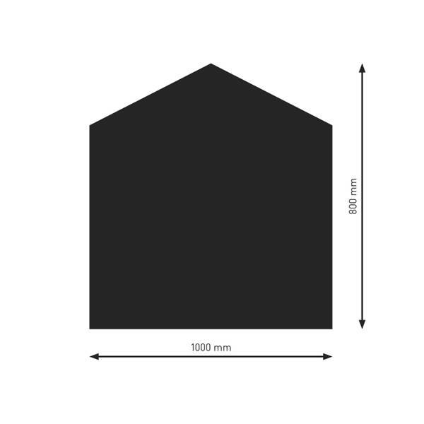 Bodenplatte, Funkenschutzplatte aus 2 mm Stahlblech – Bild 19