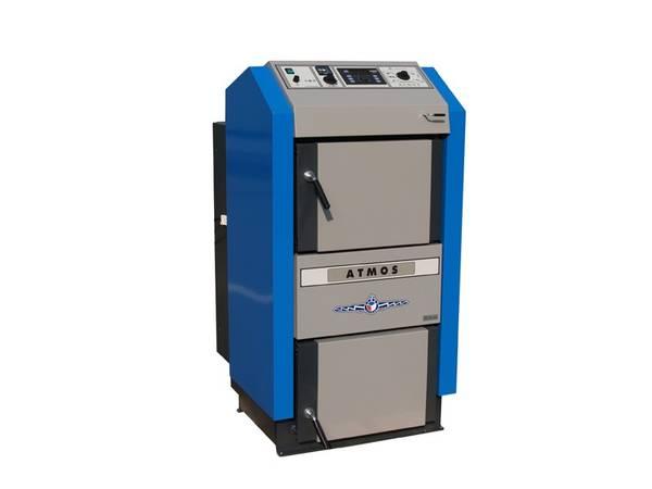 Holzvergaserkessel ATMOS 49 kW DC50 GSE