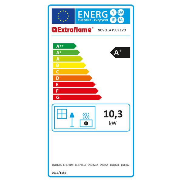 Pelletofen 10,3 kW Extraflame Novella Plus Evo – Bild 5