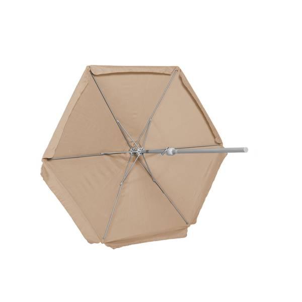 Schirm, Ø 270 cm, 38 mm Rohr, beige