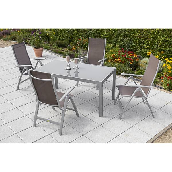 5tlg. Carrara Set, taupe