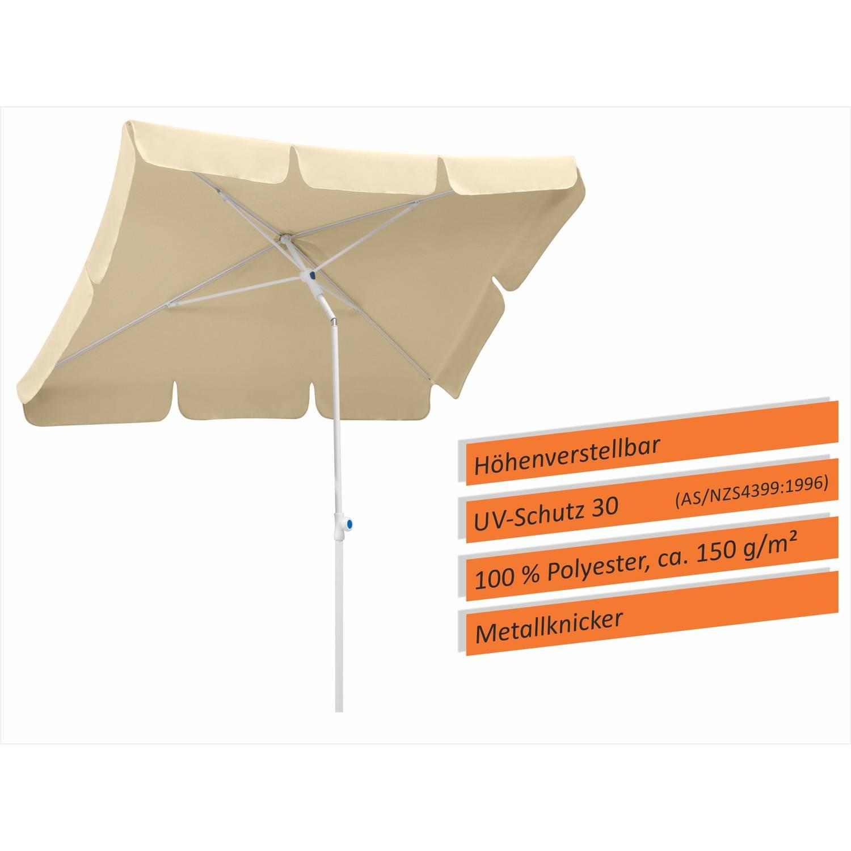 Sonnenschirm Ibiza 180x120, Farbe wählbar