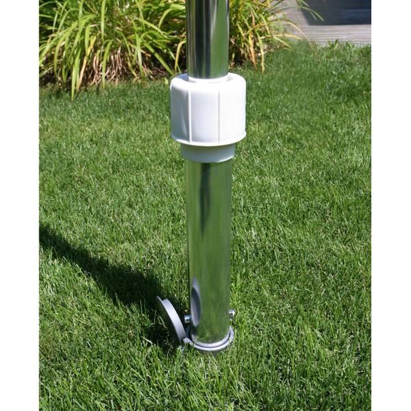 Bodenhülse für 50 mm Rohr extra lang    – Bild 2