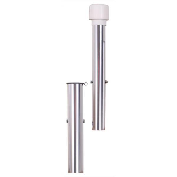 Bodenhülse für 50 mm Rohr extra lang