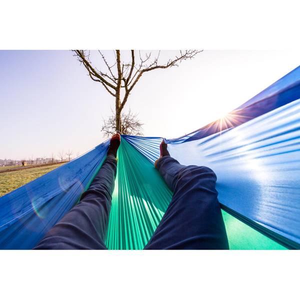 Hängematte Adventure Hammock ice-blue – Bild 5