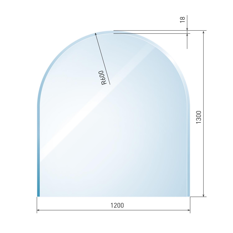 glasbodenplatte 6 mm zunge 4 inkl facette. Black Bedroom Furniture Sets. Home Design Ideas