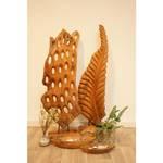 Deko-Figur Blatt auf Holzfuß ca. 110 cm